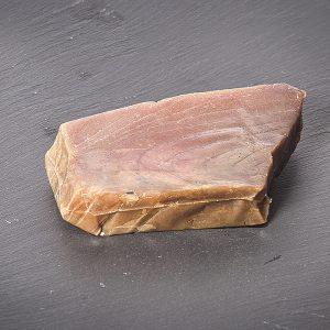 Filete de atum-patudo fumado sob Pedra de Ardósia