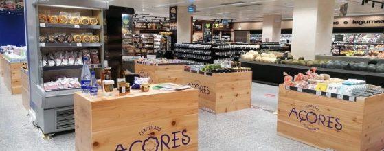 Produtos da casa do portinho, feira produtos açores no supermercado el corte inglês lisboa e gaia.