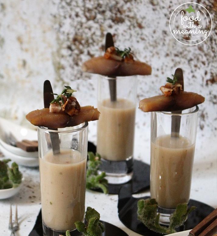 Imagem de receita de Surf & Turf de Cogumelos